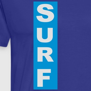 Surf - Premium T-skjorte for menn