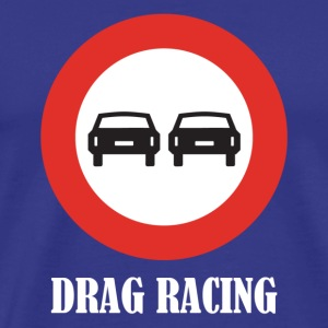 Drag Racing - Premium-T-shirt herr