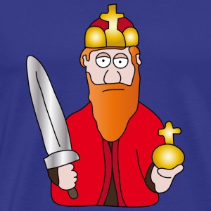 Barbarossa | King of the Roman Empire - Men's Premium T-Shirt