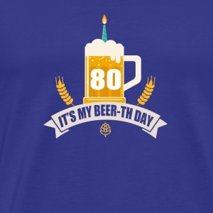 C'est ma bière th Day 80 Years Old - T-shirt Premium Homme