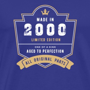 Made In 2000 Limited Edition All Original Parts - Men's Premium T-Shirt