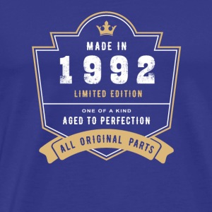 Made In 1992 Limited Edition All Original Parts - Men's Premium T-Shirt