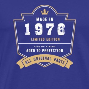 Made In 1976 Limited Edition All Original Parts - Men's Premium T-Shirt