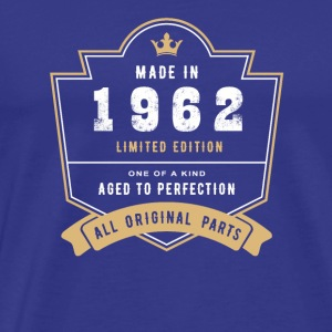 Made In 1962 Limited Edition All Original Parts - Men's Premium T-Shirt