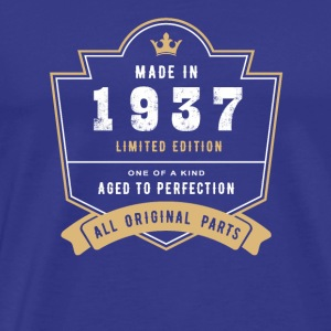Made In 1937 Limited Edition All Original Parts - Men's Premium T-Shirt