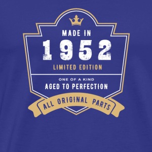 Made in 1952 Limitierte Auflage Alle Originalteile - Männer Premium T-Shirt