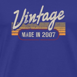 Vintage MADE IN 2007 - Männer Premium T-Shirt