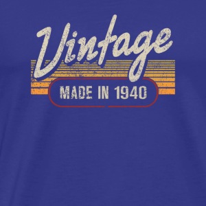 Vintage MADE IN 1940 - Men's Premium T-Shirt