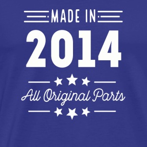 Made In 2014 All Original Parts - Men's Premium T-Shirt