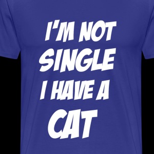 I'm not single, I have a cat