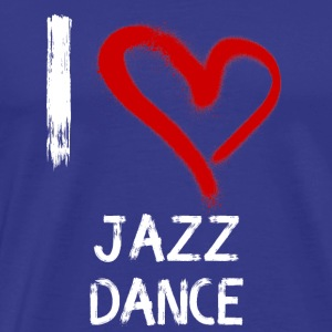I love Jazz Dance - Männer Premium T-Shirt