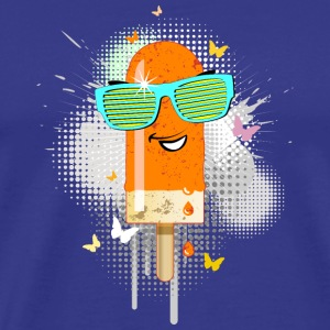 Popsicle ice lolly ice cream Gelato summer sweet - Men's Premium T-Shirt