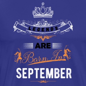 september - Herre premium T-shirt