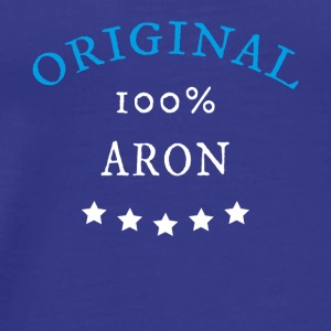 Original 100% Aron gave - Premium T-skjorte for menn