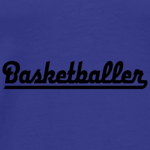 6061912 126236893 basketbal - Mannen Premium T-shirt