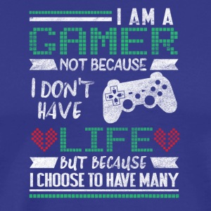 More life gamer - Men's Premium T-Shirt