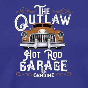 Outlaw Hot Rod Garage / Old Timer Oldtimer - Männer Premium T-Shirt