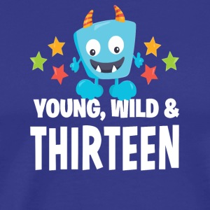 Young wild and Thirteen - Men's Premium T-Shirt