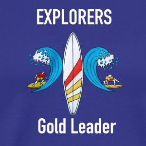Explorer Surfcamp Gold Leader - Camiseta premium hombre