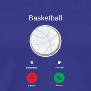 Basketball calls - Men's Premium T-Shirt
