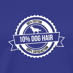 dog hair - Männer Premium T-Shirt