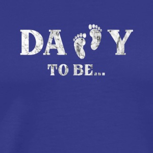 Daddy to be Bald Papa :-) 2017 - Men's Premium T-Shirt