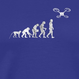 Evolution drone Quadrocopter Hexacopter gift - Men's Premium T-Shirt