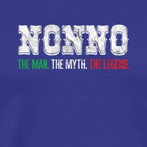 NONNO THE OPA GREATER THE LEGEND GIFT - Men's Premium T-Shirt