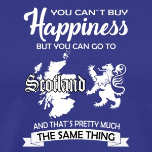 Glad Skottland gave William Wallace Edinburgh - Premium T-skjorte for menn