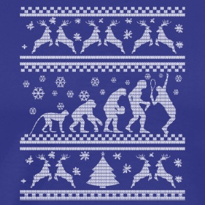 Evolution Tennis julklapp Winter - Premium-T-shirt herr