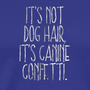 Dog hair dog hair dog gift dog holder - Men's Premium T-Shirt