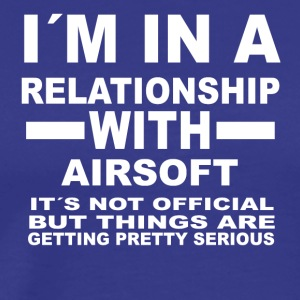 relationship with AIRSOFT - Männer Premium T-Shirt