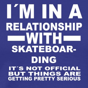relationship with SKATEBOARDING - Männer Premium T-Shirt