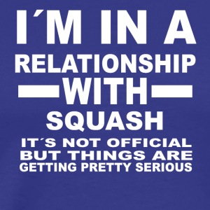 relationship with SQUASH - Männer Premium T-Shirt