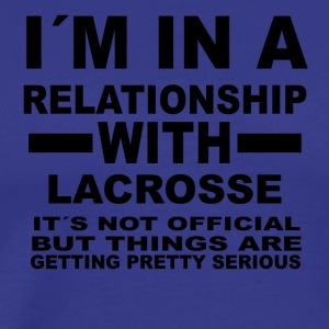 relationship with LACROSSE - Männer Premium T-Shirt