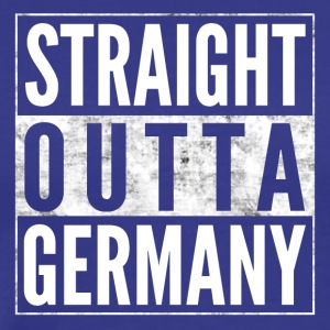 STRAIGHT OUTTA GERMANY Germany funny shirt - Men's Premium T-Shirt
