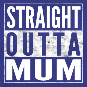 STRAIGHT OUTTA MUM Mummy Birth Shirt - Men's Premium T-Shirt