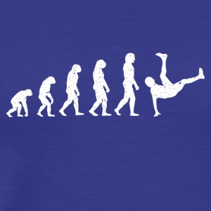 Evolution breakdance dans hiphop Hatrik DESIGN - Mannen Premium T-shirt