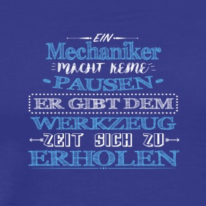 Proud mechanic - Men's Premium T-Shirt