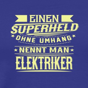Proud ELECTRICIAN - Men's Premium T-Shirt