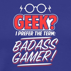 Funny GAMER T Shirt - Men's Premium T-Shirt