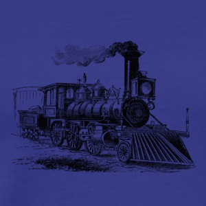 locomotive - Men's Premium T-Shirt