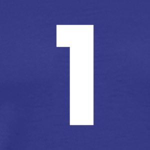 Number 1, number 1, 1, one, number one, one - Men's Premium T-Shirt