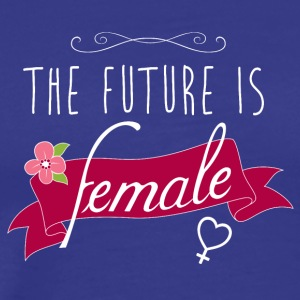 The future is female - Männer Premium T-Shirt