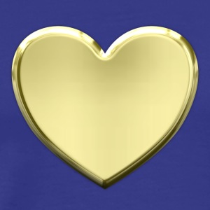 Heart of Gold - Premium T-skjorte for menn