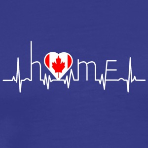 i love home homeland Canada - Men's Premium T-Shirt