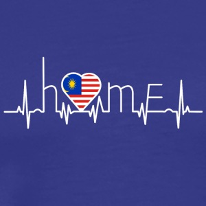 i love home homeland Malaysia - Men's Premium T-Shirt