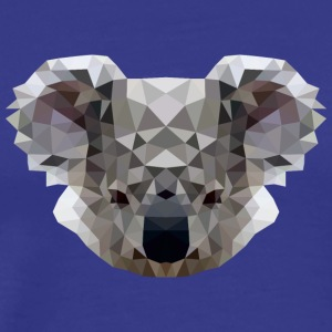 Polygon Koala - Men's Premium T-Shirt