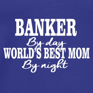 banker by day - Men's Premium T-Shirt