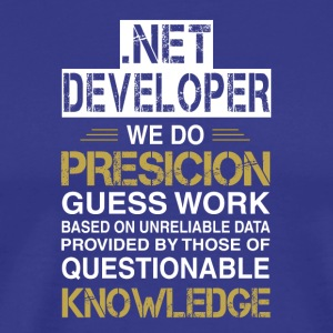 NET DEVELOPER Precision - Camiseta premium hombre